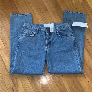 Current Elliot the original straight jeans